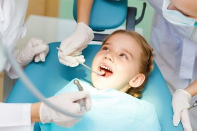Child Who is Afraid of Going to the Dentist