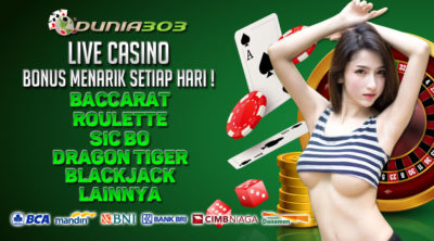 Indonesia's Most Trusted Online Casino Agent SBOBET Dunia303 - List of the Most Trusted