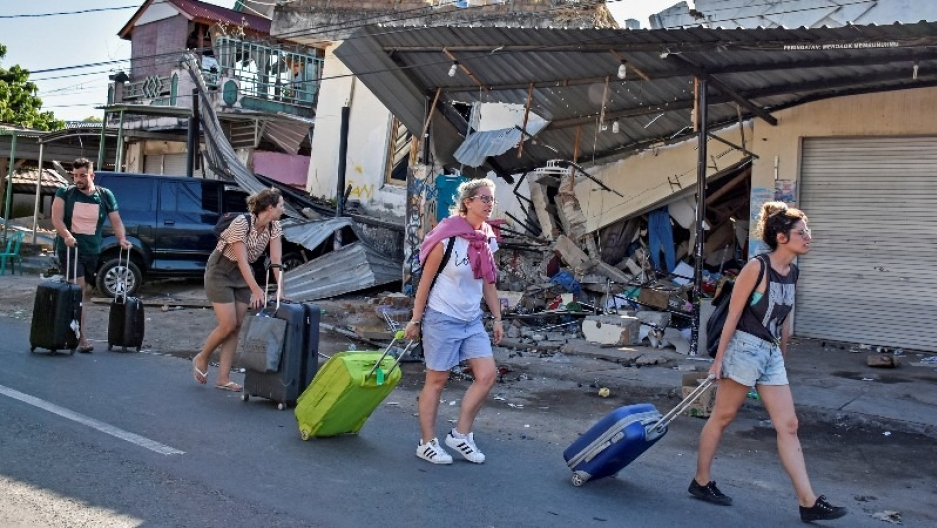 natural disasters during travel