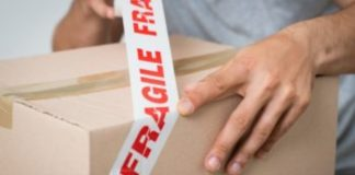 Pack Fragile Items When Moving