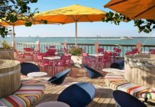 waterfront restaurants miami beach