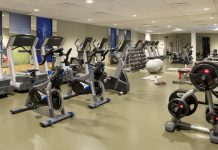 gyming equipment