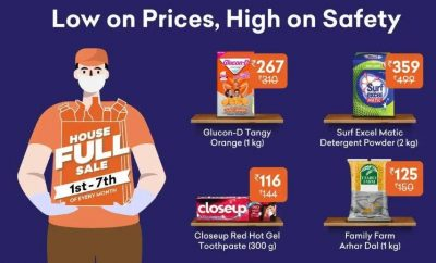Save more with Grofers bank offers on credit cards now