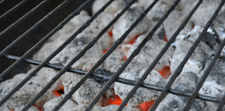 Cooking On A Charcoal Grill