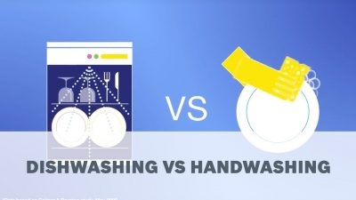 Dishwasher or Hand Washing