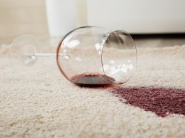 how to get stains out of carpet