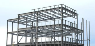 Structural Steel Frame Construction