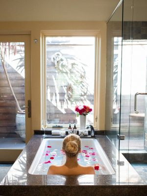 home spa for cute date ideas