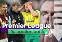 Premier League 2020/21 Relegation Favourites