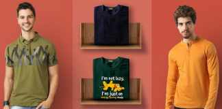 types of men's t-shirts