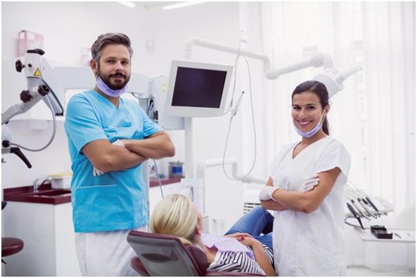 the orthodontist