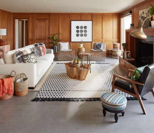Living Room a Contemporary Decor