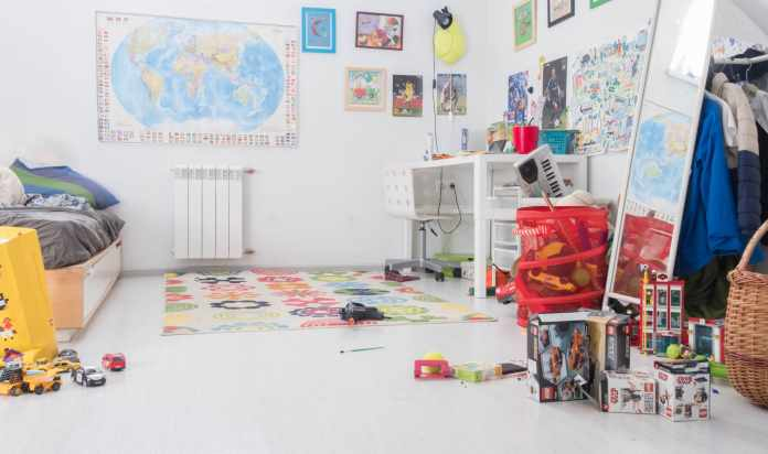 Decluttering kids rooms this Spring