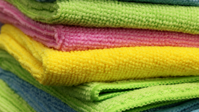 What is a microfiber clothes and how should I use it to clean my home?
