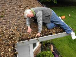 Gutter cleaning services in SA