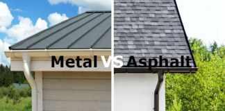Metal vs. Asphalt Roof