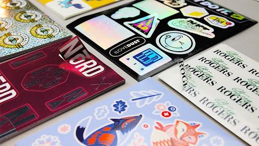 top custom stickers