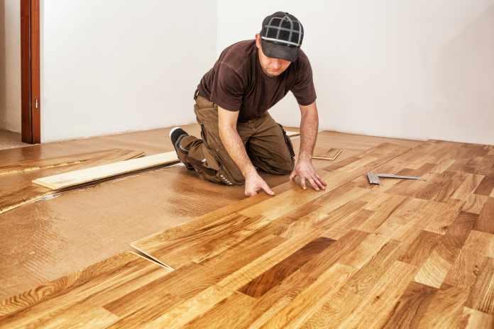 wood floor lot of money
