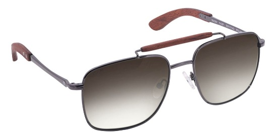 Grey Square Titan Men Sunglasses