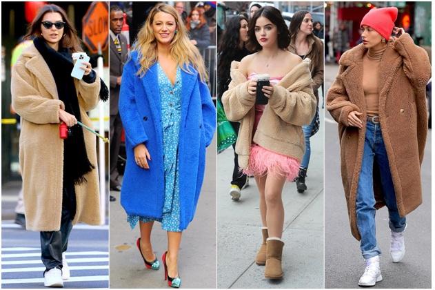 The Teddy Bear Coat Trend