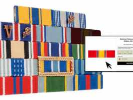 Online Resource for Thin Military Ribbons