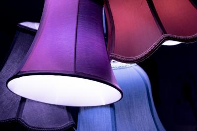 types of lamp shades