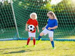 Kid Play Football