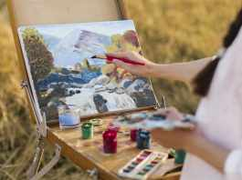 Virtual Paint and Sip Event
