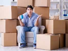 moving into homes