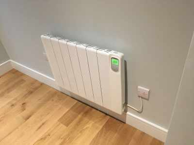 Installing electric radiators