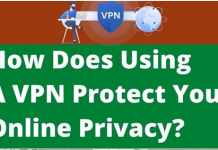 VPN protect your online activity