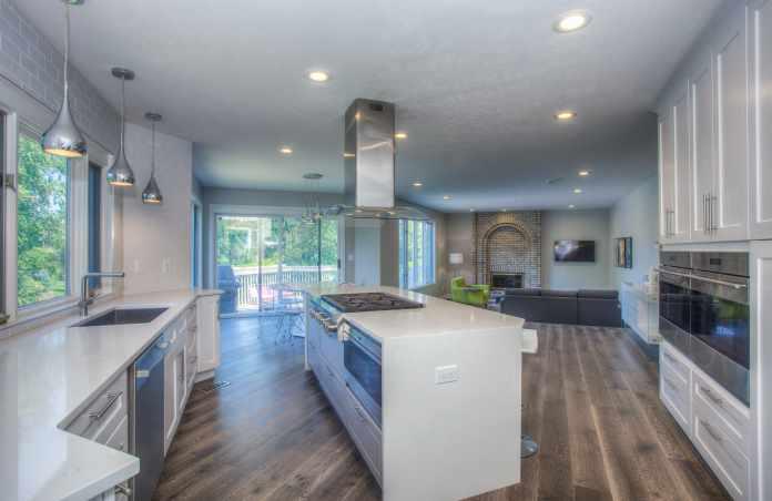 LVT Flooring in kitchen