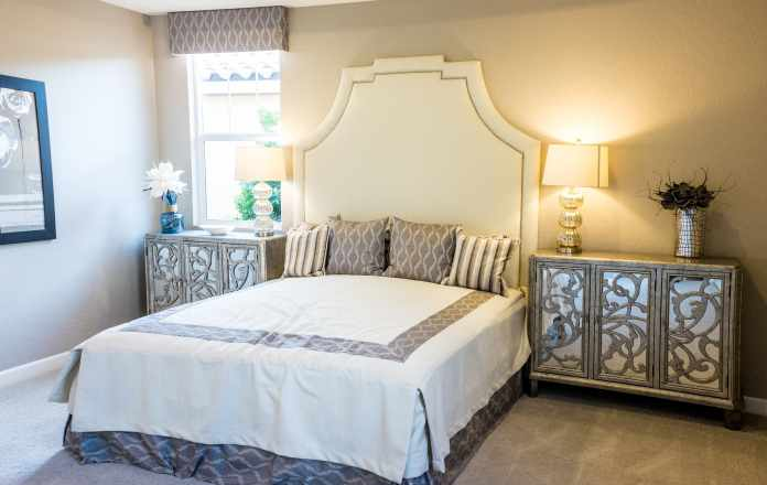 Advantages of Mirrored Bedroom