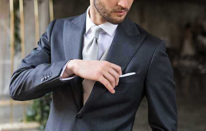 suit for a wedding