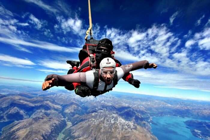 best skydiving in the world
