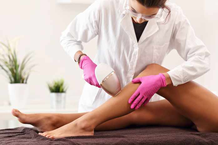 First Ever Laser Hair Removal