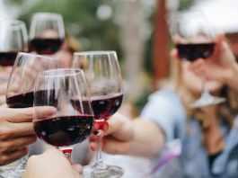 wine tasting ceremony